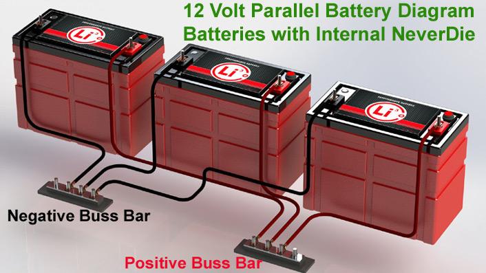 12v Batteries In Parallel Besides 12 Volt Battery Wiring Diagram