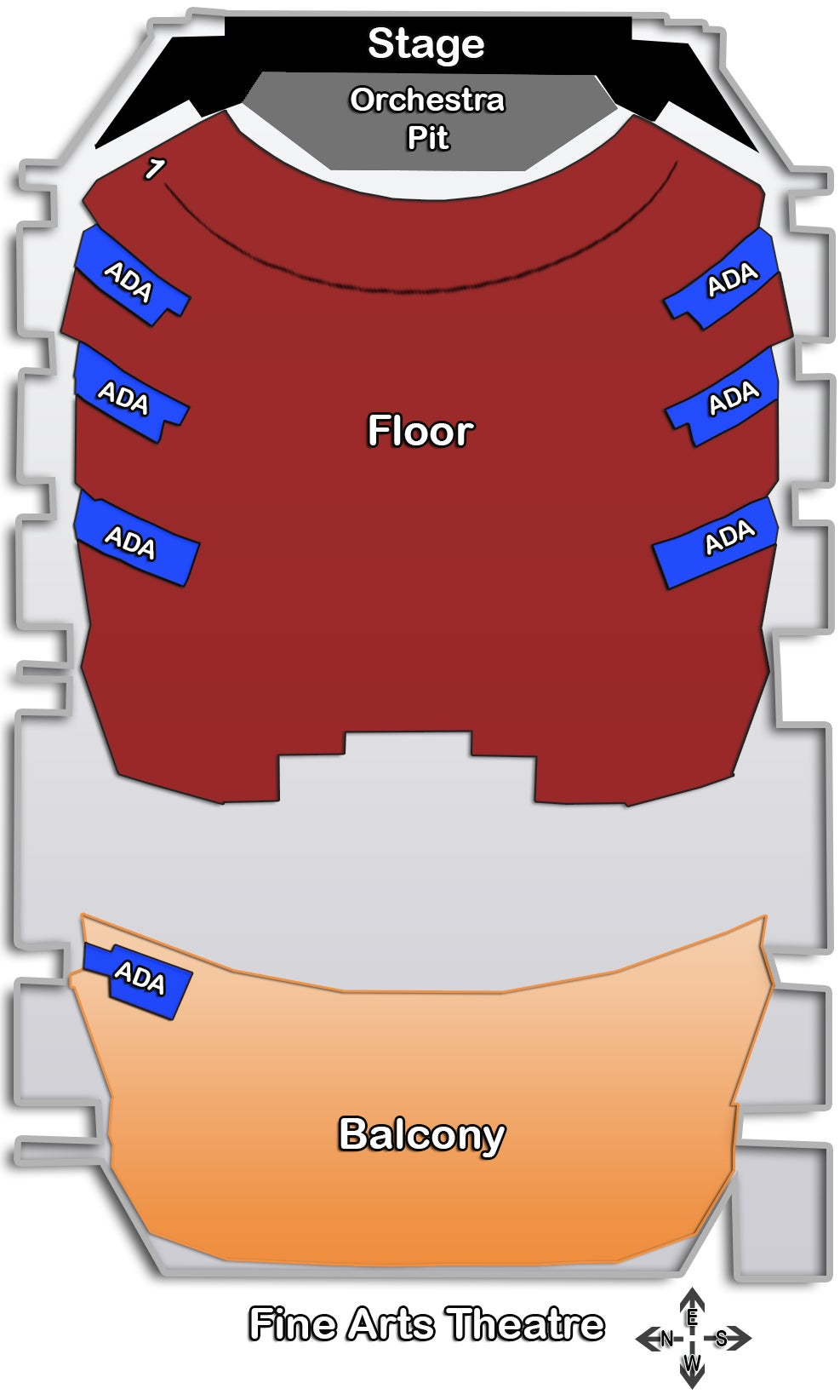 hight resolution of 1 3 seating charts theatre jpg