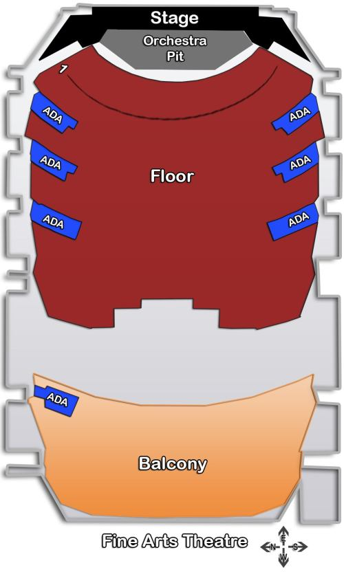 small resolution of 1 3 seating charts theatre jpg