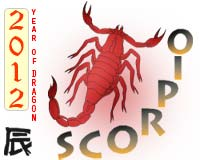 2012 horoscope scorpio
