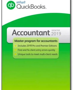 QuickBooks Accountant 2019