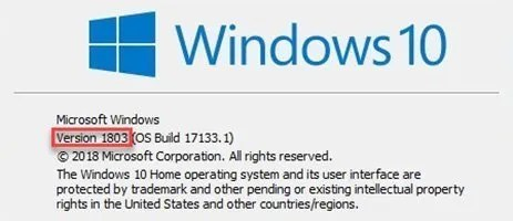 Applications Slow/Menus not working after Windows 10 update Build 1803