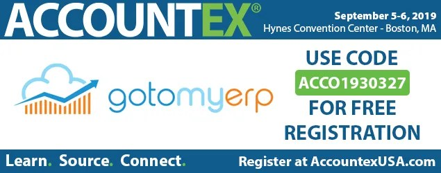 Accountex 2019 Free Registration Code