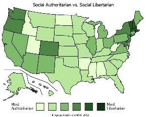 libertarian vs. authoritarian