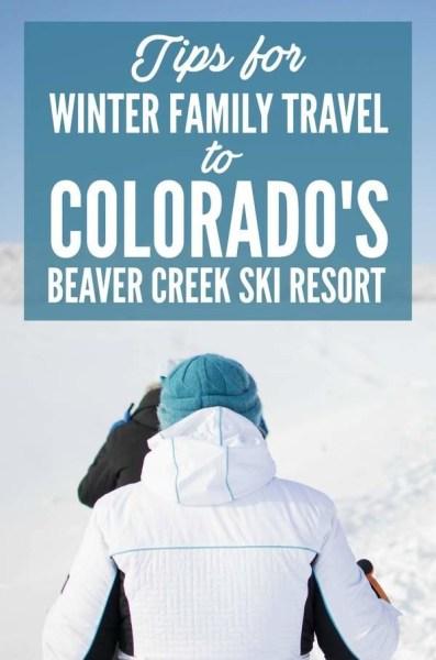 Tips for Winter Family Travel to Colorado's Beaver Creek Ski Resort via @GotoTravelGal