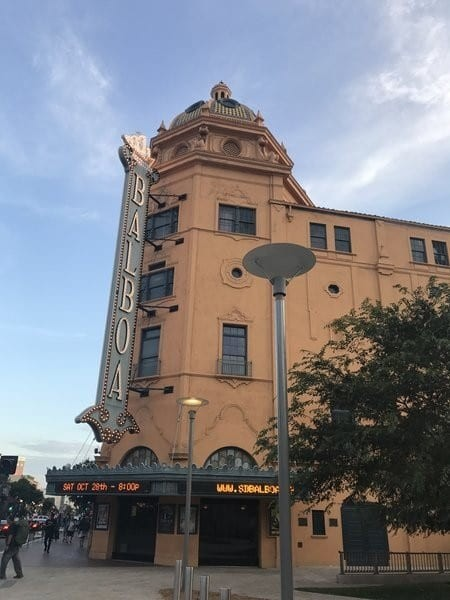 Balboa Theater Gaslamp Quarter San Diego