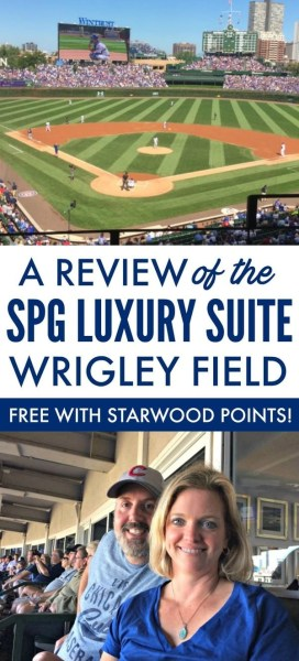 Review of SPG Rewards Luxury Suite at Wrigley Field via @GotoTravelGal