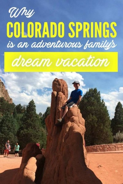Why Colorado Springs is an adventurous family's dream vacation via @GotoTravelGal