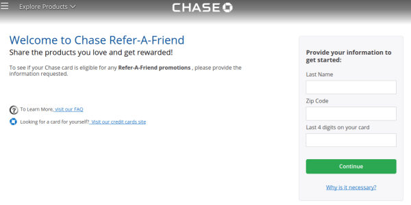 Chase Refer a Friend
