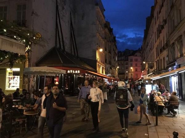 Saint Germain des Pres neighborhood