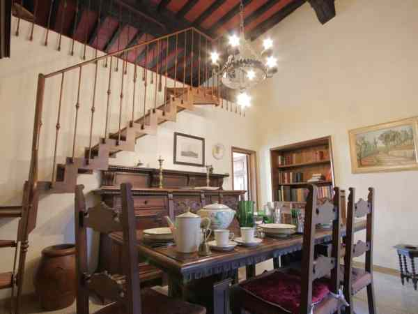 San Gimignano Vacation Rental Dining