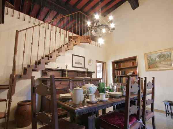 San Gimignano Vacation Rental Dining
