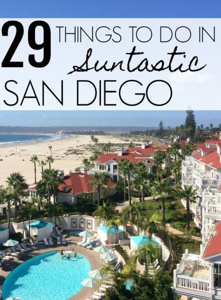 29 Things to Do in Suntastic San Diego via @GotoTravelGal