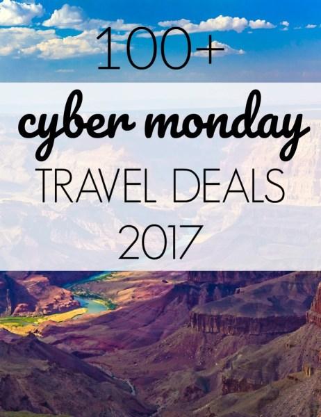 Cyber Monday Travel Deals 2017