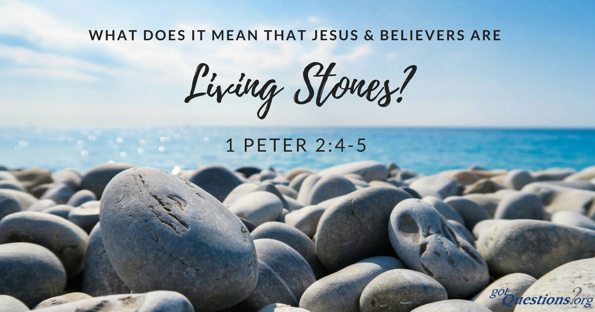 What does it mean that Jesus and believers are living