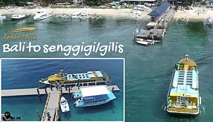 Golden Queen fastboat senggigi