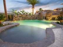 Rock Pool Design Yorba Linda Custom Features Irvine
