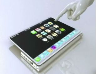 Apple Tablet Prototype by Popular Mechanics