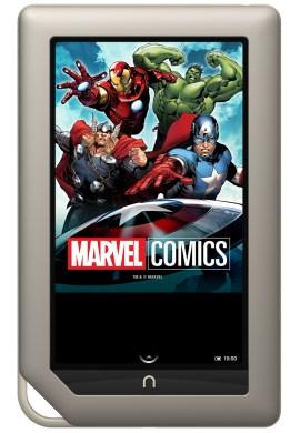 Nook Comics Include Spiderman