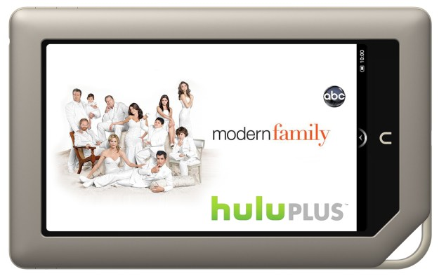 Hulu Plus on your Nook Tablet