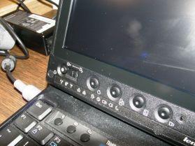 X200 Tablet - left flush bezel