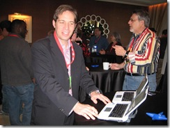 CES 2009 Tablet and Touch Community Meetup 012