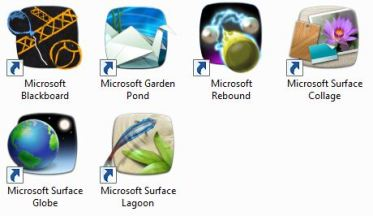 Microsoft touch pack open to [some] windows 7 users.