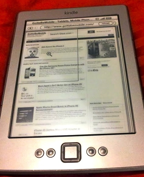 Kindle browser