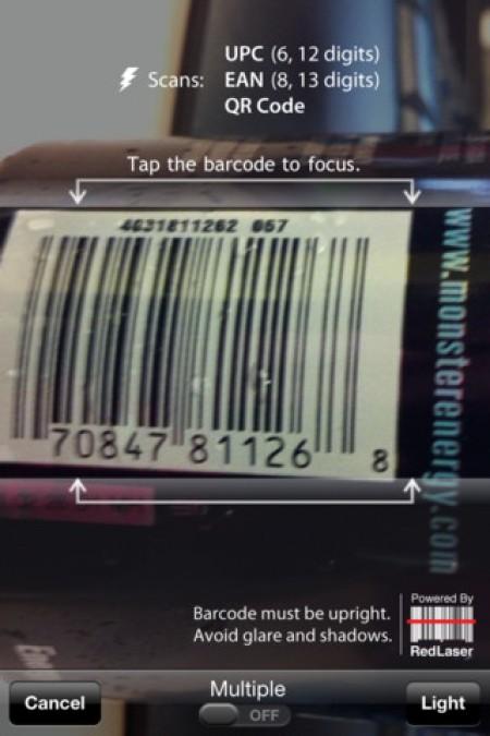 RL Classic bar code scanner app