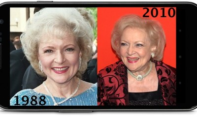 Betty White Smartphone
