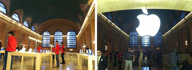 Apple Grand Central Terminal Store