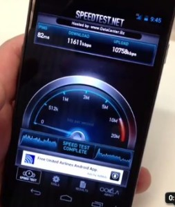Galaxy Nexus 4g lte speed test