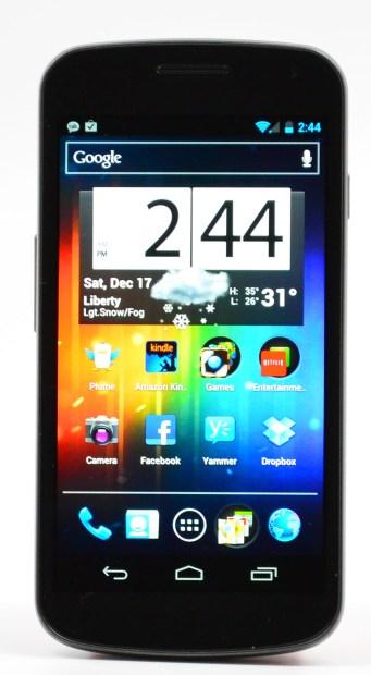 Galaxy Nexus Review Display