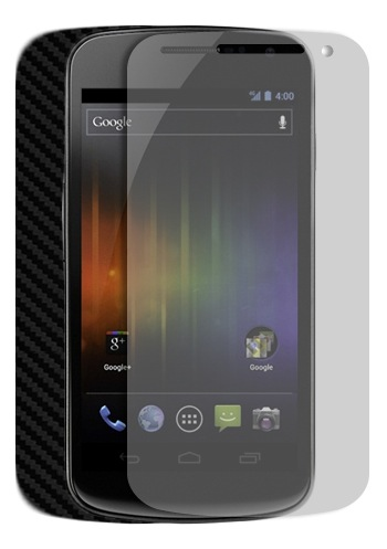 Skinomi Carbon Fiber Galaxy Nexus Skin