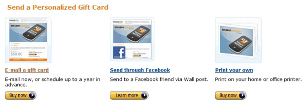 amazon app store gift card