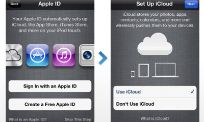 iOS setup