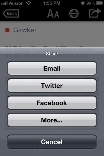 iPhone Sharing