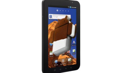 original galaxy tab gets no ICS