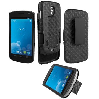 Verizon Galaxy Nexus Shell and Holster