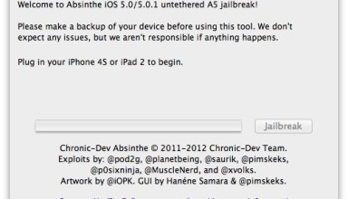 Absinthe iPhone 4S Jailbreak