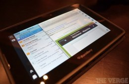 BlackBerry PlayBook OS 2.0_ hands-on impressions, pictures, and video | The Verge