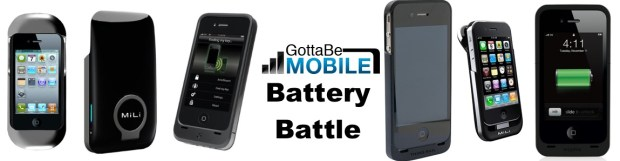GBM iphone 4S battery Case Roundup