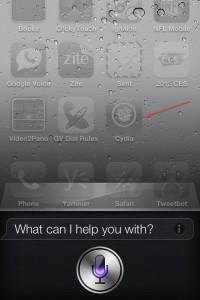 Siri on Jailbroken iPhone 4S