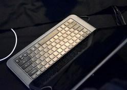 Ultrabook slider keyboard