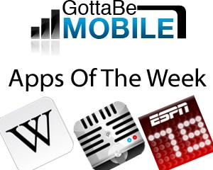 GottabeMobile Apps of the Week