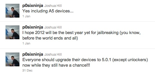 iPhone 4S Jailbreak update to iOS 5.0.1