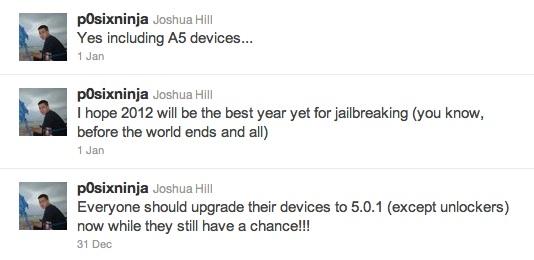 iPhone 4S Jailbreak update to iOS 5.0.1