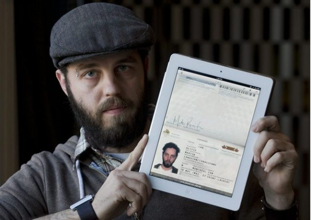 iPads as passports