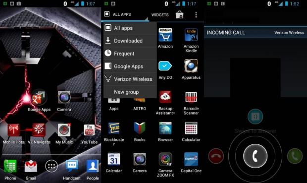Android 4 MotoBlur Ice Cream Sandwich