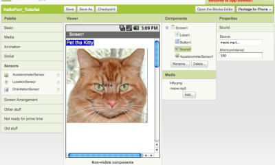 App Inventor - image credit sanuonline.com